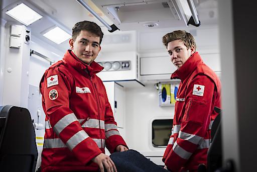 Zivildiener des Roten Kreuz