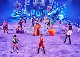 Neue Eisshow Holiday on Ice SUPERNOVA in der Wiener Stadthalle hebt ab zu den Sternen