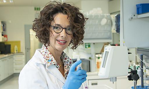 Kerstin Heine ist Chemikerin und bei Hagleitner für Desinfektionsprodukte verantwortlich.