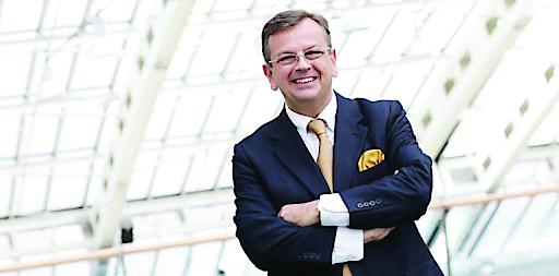 RTK-Vizepräsident Thomas Ziegler, Geschäftsführer des Design Center Linz und Vorstandsdirektor der LIVA