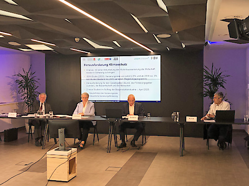 """Zwei Studien zum Thema """"Thermisch-energetische Sanierung"""" wurden heute via Video-Pressekonferenz präsentiert."""
