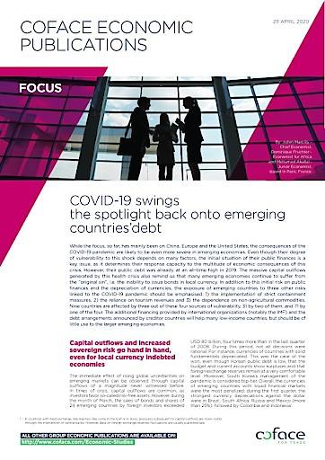 Coface: Schwellenländer leiden unter Corona noch härter als China, Europa und USA