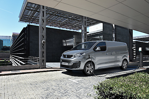 Neuer PEUGEOT e-Expert Nutzfahrzeug: 100% elektrisch