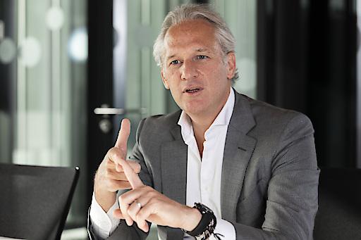 Martin Ohneberg, CEO von HENN und Präsident der Industriellenvereinigung Vorarlberg, © Studio Fasching