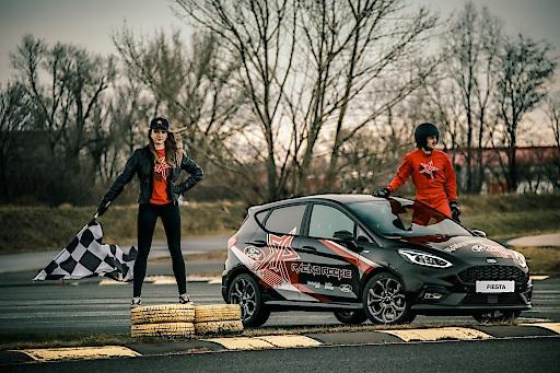 """Racing Rookie 2020_1. Weiterer Text über ots und www.presseportal.de/nr/143363 / Die Verwendung dieses Bildes ist für redaktionelle Zwecke honorarfrei. Veröffentlichung bitte unter Quellenangabe: """"obs/Ford Motor Company (Austria) GmbH/Juergen Skarwan"""""""