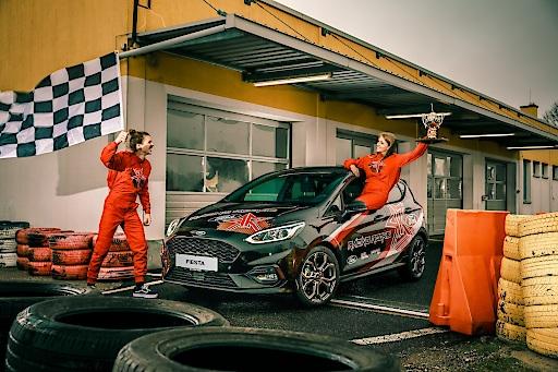 """Racing Rookie 2020_2. Weiterer Text über ots und www.presseportal.de/nr/143363 / Die Verwendung dieses Bildes ist für redaktionelle Zwecke honorarfrei. Veröffentlichung bitte unter Quellenangabe: """"obs/Ford Motor Company (Austria) GmbH/Juergen Skarwan"""""""