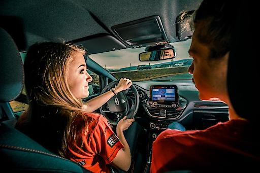 """Racing Rookie 2020_3. Weiterer Text über ots und www.presseportal.de/nr/143363 / Die Verwendung dieses Bildes ist für redaktionelle Zwecke honorarfrei. Veröffentlichung bitte unter Quellenangabe: """"obs/Ford Motor Company (Austria) GmbH/Juergen Skarwan"""""""