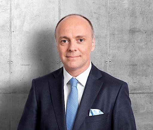 Stellvertretender Vorstandsvorsitzender der LLB (Österreich) AG, Mag. Harald Friedrich, ist verantwortlich für den Geschäftsbereich Immobilien