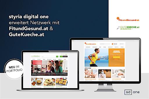 styria digital one erweitert Netzwerk mit FitundGesund.at & GuteKueche.at