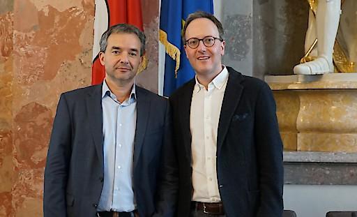 Paul Köllensperger und Dominik Oberhofer