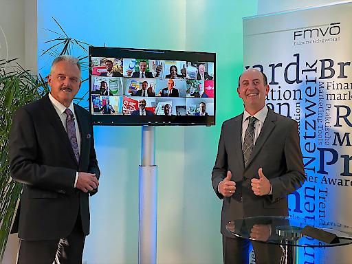 Die Gewinner und Partner des FMVÖ-Recommender-Award 2020 bei der virtuellen Verleihung.