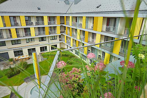 Das Klinikum Malcherhof Baden startet am 2. Juni 2020 wieder den Betrieb.