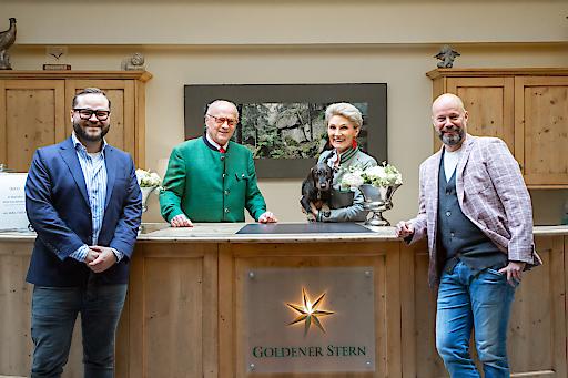Übernahme Foto Goldener Stern Gmünd