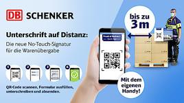 Unterschrift auf Distanz: DB Schenker in Graz entwickelt No-Touch-Signatur für Warenübergabe während Corona