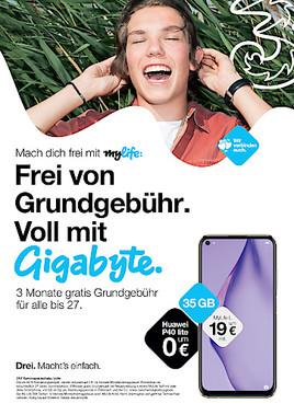 MyLife im Sommer: Frei von Grundgebühr, voll mit Gigabyte.