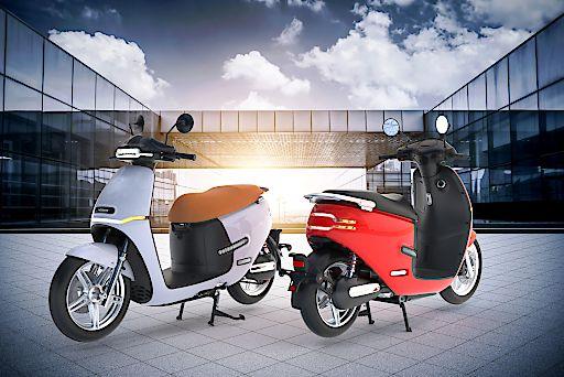 Das neue Elektro-Leichtkraftrad HORWIN EK3 kommt im Juli auf den Markt.