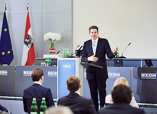 Präsident der Wirtschaftskammer Österreich Harald Mahrer