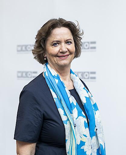 Wiedergewählte Obfrau der Bundessparte Gewerbe und Handwerk in der Wirtschaftskammer Österreich Renate Scheichelbauer-Schuster