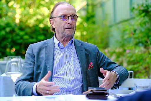 Hans Schmid im Gespräch mit Sprich! für die kommende Ausgabe