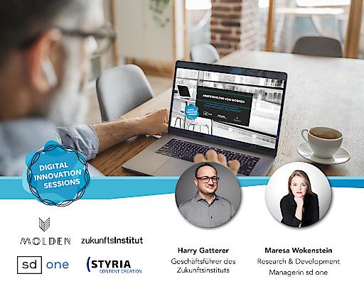styria digital one & Styria Content Creation laden mit Molden Verlag zur nächsten DIGITAL INNOVATION SESSION mit Harry Gatterer