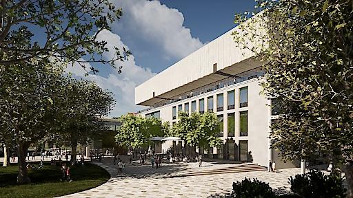 Wien Museum Neu - Architekturrendering
