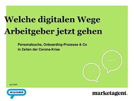 Welche digitalen Wege Arbeitgeber jetzt gehen