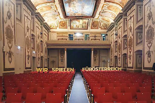Wir spielen für Österreich im Schloss Esterházy in Eisenstadt
