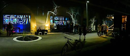 Im Kunstraum Jot12 können die Arbeiten verschiedenster KünstlerInnen erlebt werden.