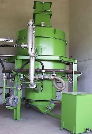 Kessel für den Vergasungsprozess der Biomasse