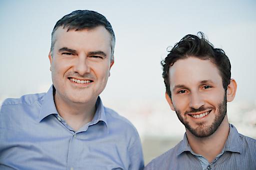 Mathias Kimpl - CEO domonda und Bernhard Frühlinger - CEO Adam