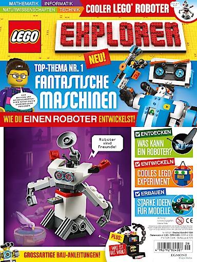 Lego Explorer Magazin