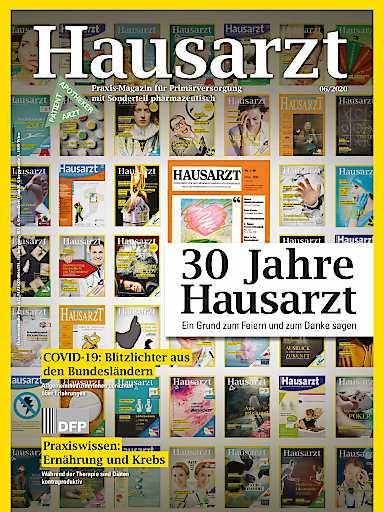 Die Juni-Ausgabe des HAUSARZT beleuchtet die Geschichte des Fachmagazins.
