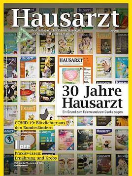 Fachmagazin HAUSARZT feiert 30-jähriges Jubiläum