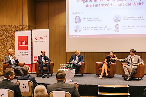 Diskussionsrunde des Eröffnungsplenums der KURS 2020