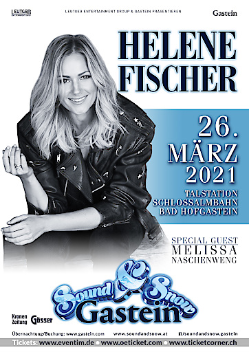 GREAT NEWS - Ersatztermin Helene Fischer Bad Hofgastein