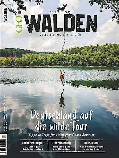 """Cover WALDEN Magazin 19/2020. Weiterer Text über ots und www.presseportal.de/nr/113600 / Die Verwendung dieses Bildes ist für redaktionelle Zwecke honorarfrei. Veröffentlichung bitte unter Quellenangabe: """"obs/Gruner+Jahr, GEOkompakt"""""""