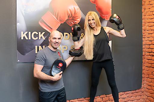 Fitness Kickboxen und Selbstverteidigungstraining im mindkick Ladies Studio in Wien