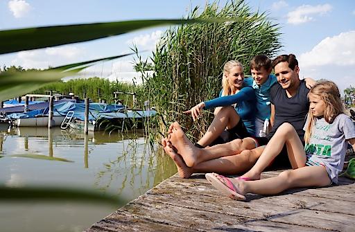 Ein Paradies für Familien – auch und vor allem im Sommer 2020. Mit viel Sicherheit und Raum! Foto: Neusiedler See Toruismus/steve.haider.com