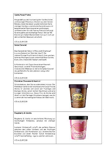 #GoodTemptation für bewusste Genießer: Oppo-Eis