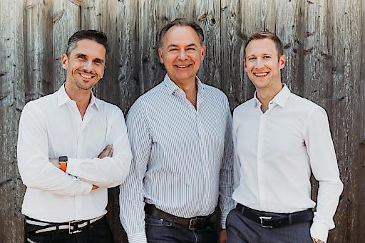 (v. l. n. r.): Thomas Horak, Gerhard Schilling und Reinhard Korner