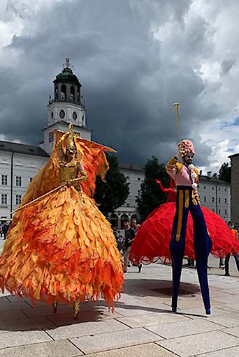 Am 16. Juli startet das Musik-, Kunst- und Performance Festival ZWISCHENRÄUME in Salzburg.