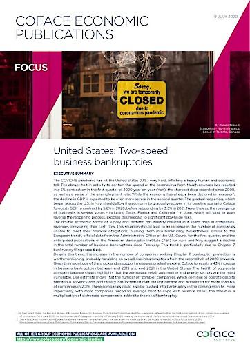 USA-Ausblick: Konkurse bahnen sich in zwei Phasen an
