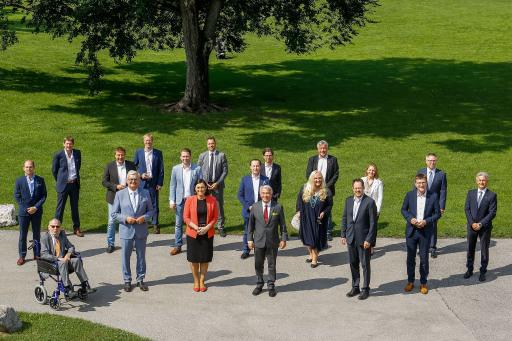 """Bild 2: Die Kooperationspartner der Initiative """"Landpaket""""."""