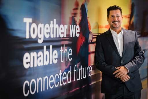 Dieter Ferner (45), Vice President Sales und Marketing bei NTT Ltd. in Österreich