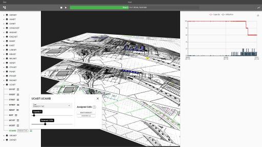 Screenshot aus gsm Lösung_SmartScale-A-Hospital Simulation
