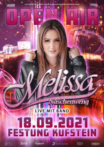 Konzertverschiebung aufgrund von COVID-19: Melissa Naschenweng Open Air in Kufstein