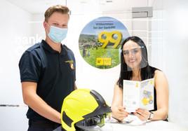 COVID-19 schmälert Feuerwehr-Budget - bank99 hilft