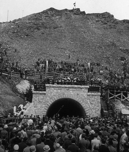 Eröffnung der Großglockner Hochalpenstraße 1935