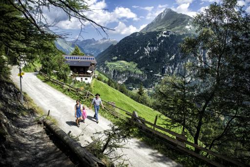 Wandern in den Bergen, Osttirol