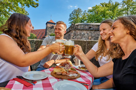 Kulinarisches #Stadtglück in Nürnberg: Picknick im Grünen, lauschige Biergärten und kulinarische Fahrradtour (FOTO)